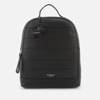 Radley Women's Babington Medium Backpack Ziptop - Black