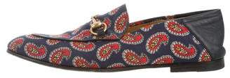 Gucci Paisley Princetown Loafers