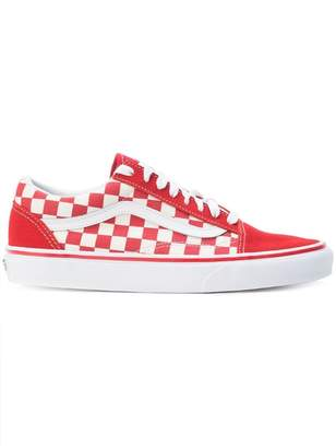 439191138778 Vans checkered lace-up sneakers