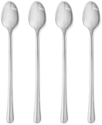 Georg Jensen Set of 4 Copenhagen Long Spoons - Silver