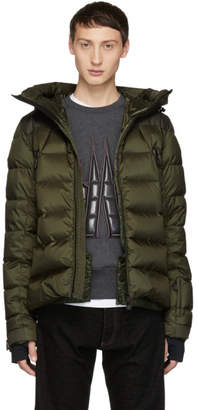 Moncler Green Down Camurac Jacket