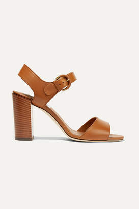 Tod's Leather Sandals - Light brown