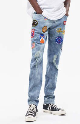 Young & Reckless Shellback Patchwork Jeans