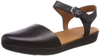 690237a06607 FitFlop Women s Mixed Buckle CARA Quarter Strap Closed Toe Sandals
