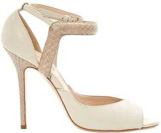 Elie Saab Leather sandal