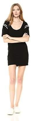 Pam & Gela Women's Dress with Football Stripes