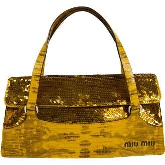 Miu Miu Glitter Handbag