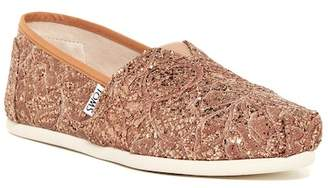 TOMS Classic Lace Glitz Slip-On Shoe $59 thestylecure.com