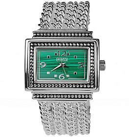 Ecclissi Sterling Multi-Chain Gemstone Watch