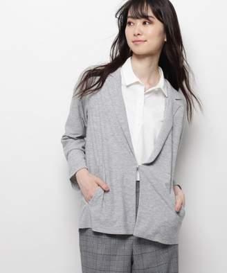 smartpink (スマートピンク) - スマートピンク 【洗える】ツイルデザインジャケット