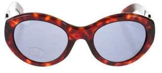 Valentino Oversize Tinted Sunglasses