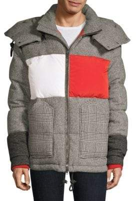 Tommy Hilfiger Edition Flag Patchwork Down Puffer Jacket