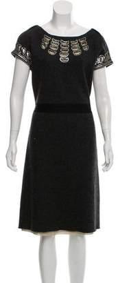 Tory Burch Wool Minnie Dress w/ Tags