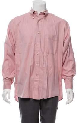 Burberry Woven Gingham Shirt