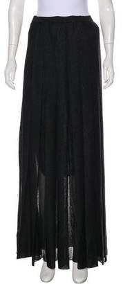 Missoni Metallic Maxi Skirt