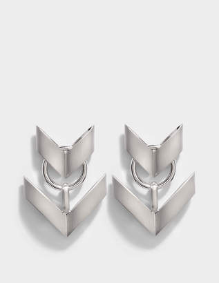 Roberto Cavalli Aella Small Earrings in Silver