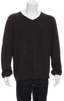 Rag & Bone Speckled V-Neck Sweater