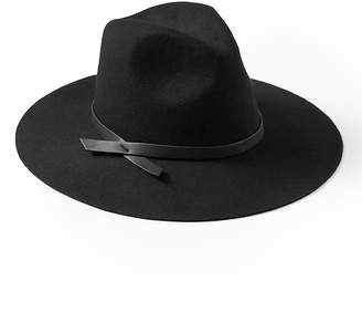 Banana Republic Wide Brim Fedora Felt Hat