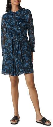 Whistles Pitti Floral Print Dress