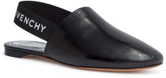 Givenchy Rivington black sling-back flats