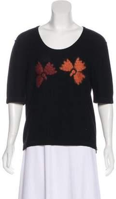Sonia Rykiel Virgin Wool Knit Sweater