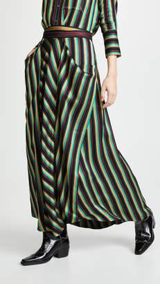 3.1 Phillip Lim Striped Maxi Skirt