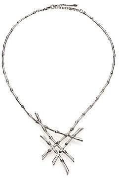 John Hardy Women's Bamboo Sterling Silver Bib Necklace