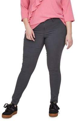 Junarose Plus Queen Masja Normal Waist Slim Colored Jeans