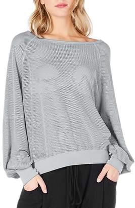 Michael Stars Open Stitch Sweatshirt
