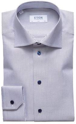 Eton Slim-Fit Textured Shirt