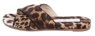 No.21 No. 21 Ponyhair Slide Sandals