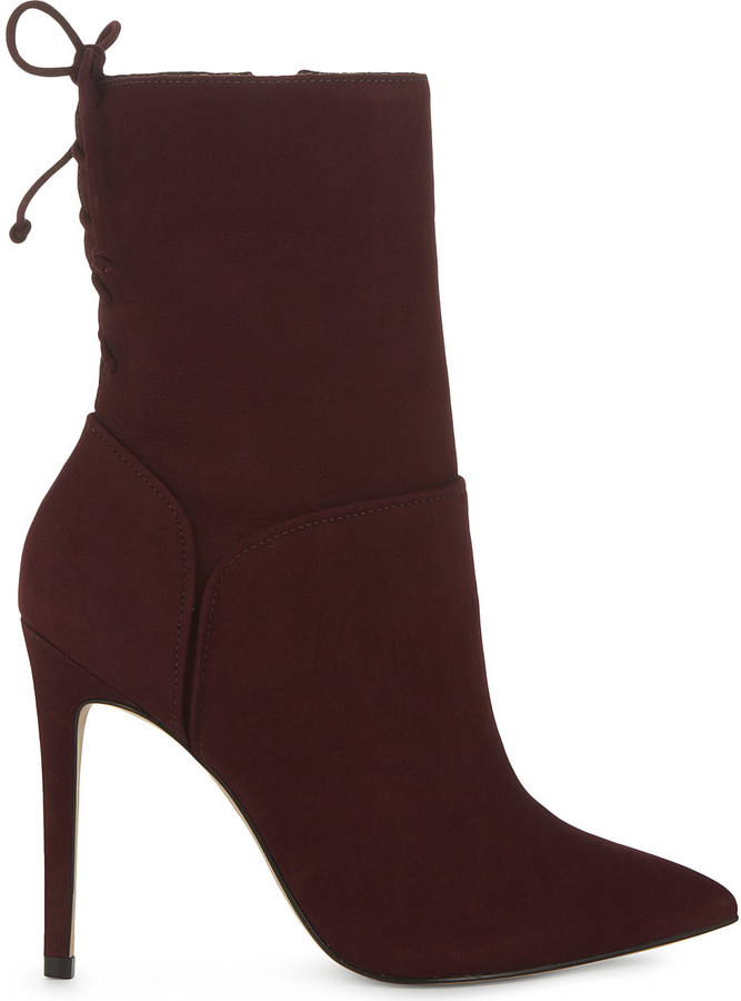 AldoAldo Angnes suede heeled ankle boots