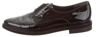 Paul Green Patent Leather Pointed-Toe Loafers