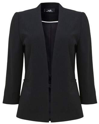 Wallis Black Lined Blazer