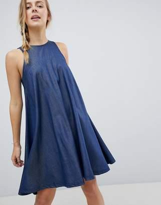 Bellfield Reeka Tencel Blend Trapeze Dress