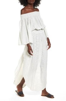 Women's Faithfull The Brand Pousada Off The Shoulder Maxi Dress $169 thestylecure.com