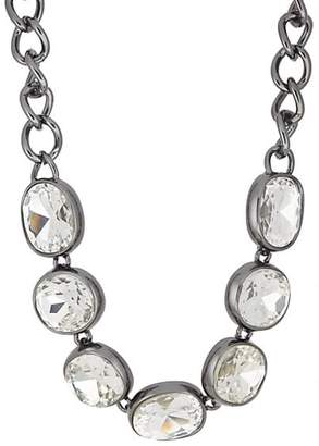 Kenneth Jay Lane WOMEN'S HEADLIGHT NECKLACE - GUNMETAL