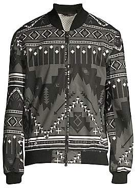 Greyson Men's Printed Bomber Jacket