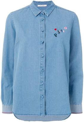 Parker Chinti & buttoned up shirt