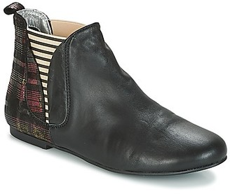 Ippon Vintage PATCH GALA women's Mid Boots in Black