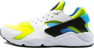 Nike Huarache Run SE - White/Volt