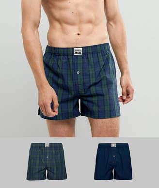 Levi's Levis Woven Boxers in 2 pack check