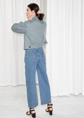 And other stories High Waisted Culotte Jeans