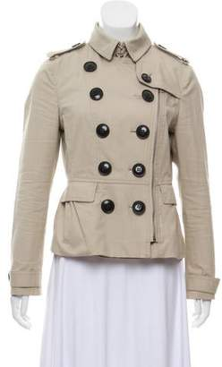 Burberry Double-Breasted Trench Jacket