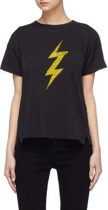 Rag & Bone Lightning bolt print Pima cotton T-shirt