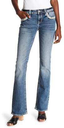 Vigoss Boot Cut Embellished Jeans