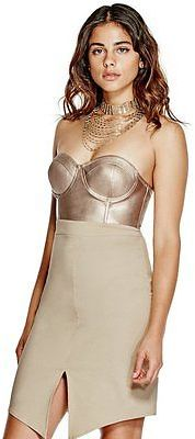 GByGUESS G By Guess Women's Kandace Bustier Dress $54.99 thestylecure.com
