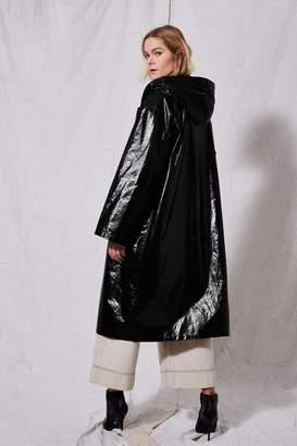 Topshop **Vinyl Raincoat by Boutique