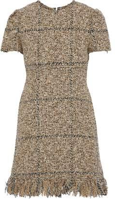 Sonia Rykiel Fringed Tweed Mini Dress