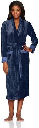 Miss Elaine Women's Sesoire French Fleece Ballet Wrap Robe